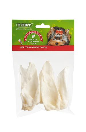 Ухо кроличье TiTBiT диетическое в мягкой упаковке для собак