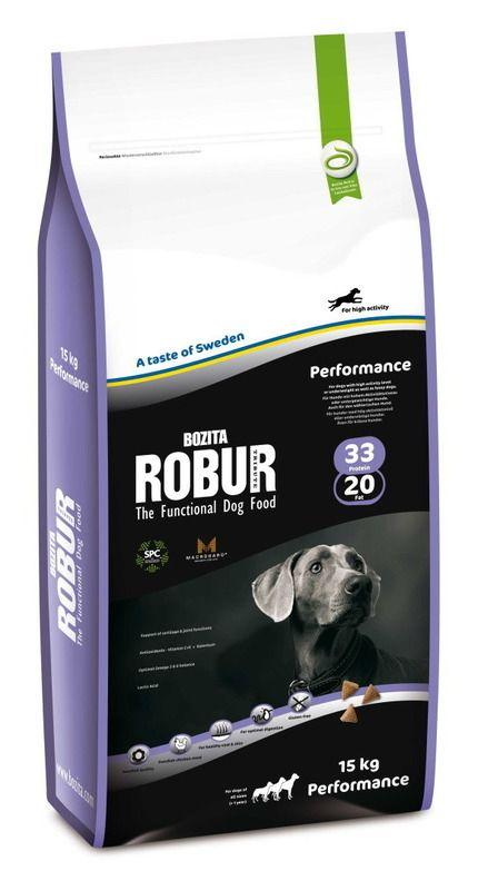 Сухой корм Bozita Robur Performance для активных, спортивных, служебных и выставочных собак