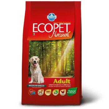 Сухой корм Farmina Ecopet Natural Adult для взрослых собак