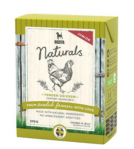 Консервы Bozita Naturals кусочки в желе с Курицей для щенков и юниоров 370 г
