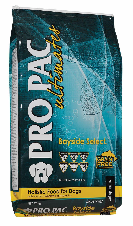 Сухой корм Pro Pac Ultimates Bayside Select беззерновой c рыбой и картофелем для собак