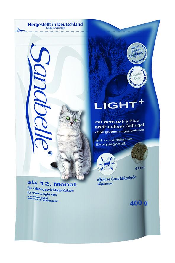 Сухой корм Sanabelle Light для кошек с избыточным весом