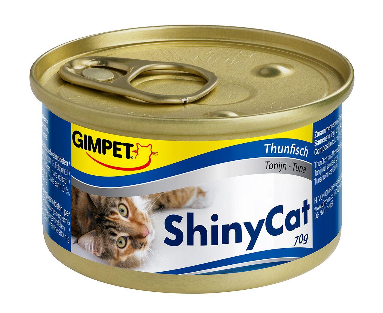 Консервы Gimpet ShinyCat для взрослых кошек