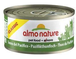 Консервы Almo Nature Classic с тихоокеанским тунцом для взрослых кошек