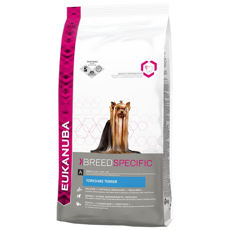 Сухой корм Eukanuba Breed Nutrition (DNA) Йоркширский терьер
