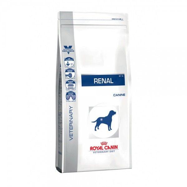 Сухой корм Royal Canin Renal RF16 диета для собак при хронической почечной недостаточности