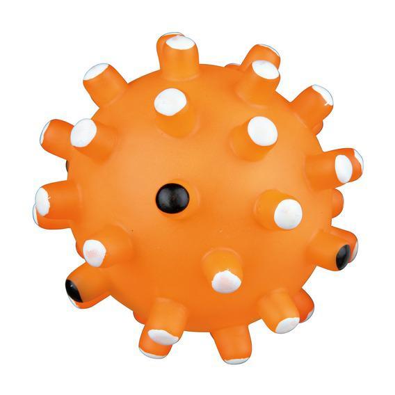 Игрушка Trixie Мяч с редкими иголками для собак 10 см
