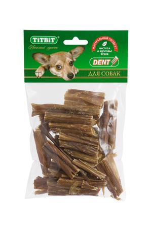 Кишки говяжьи мини TiTBiT в мягкой упаковке для собак