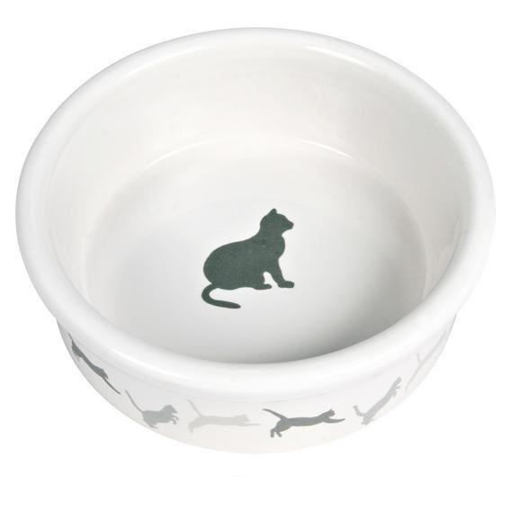 """Миска Trixie """"Кошка""""для кошки с рисунком 4019"""