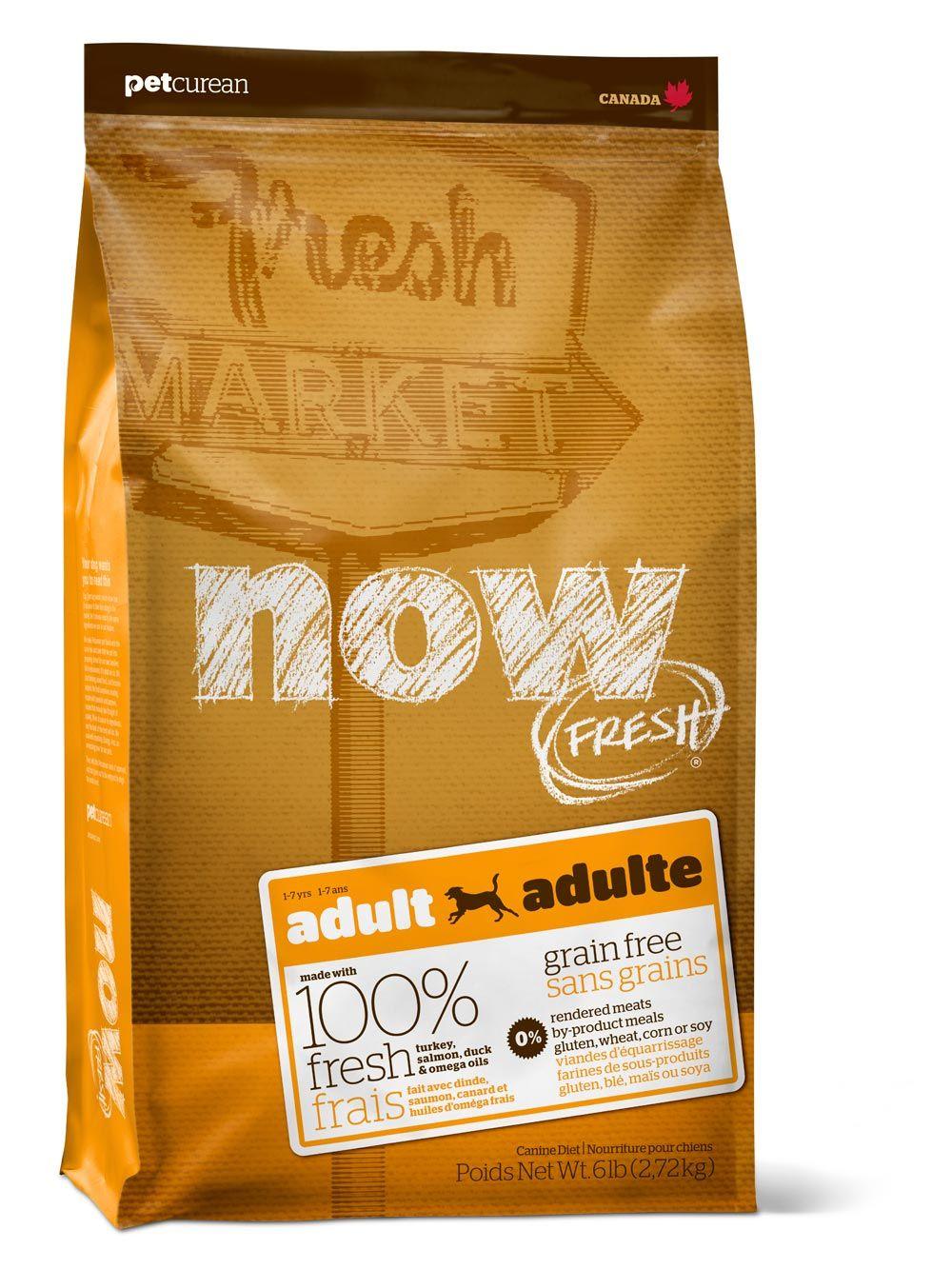 Сухой корм Now Fresh Adult беззерновой с индейкой, уткой и овощами для взрослых собак