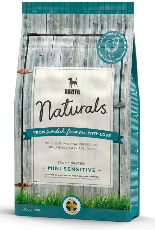 Сухой корм Bozita Naturals Mini Sensitive Single Protein для мелких собак с чувствительным пищеварением