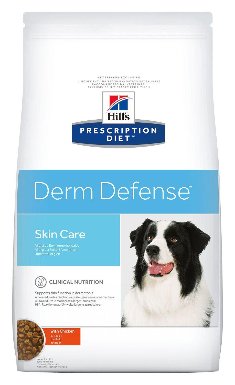 Сухой корм Hill's Prescription Diet Derm Defense для собак с проблемами кожи