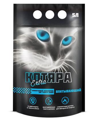 Наполнитель Котяра Extra силикагелевый для кошек