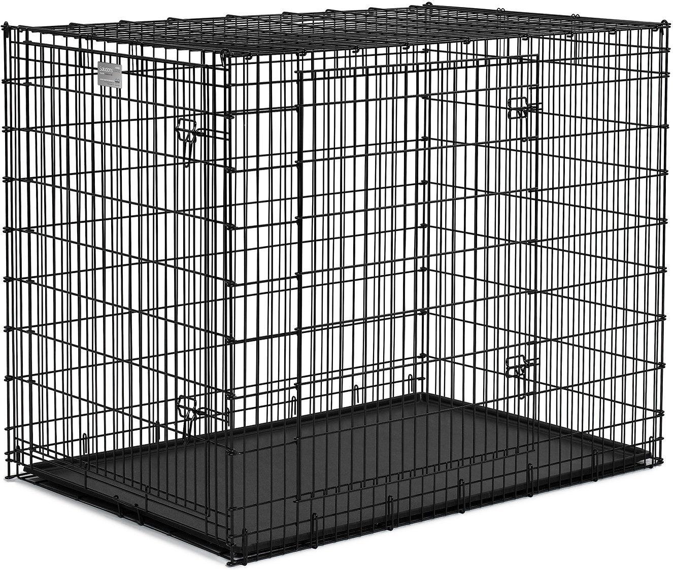 Клетка Midwest Solutions двухдверная для больших собак