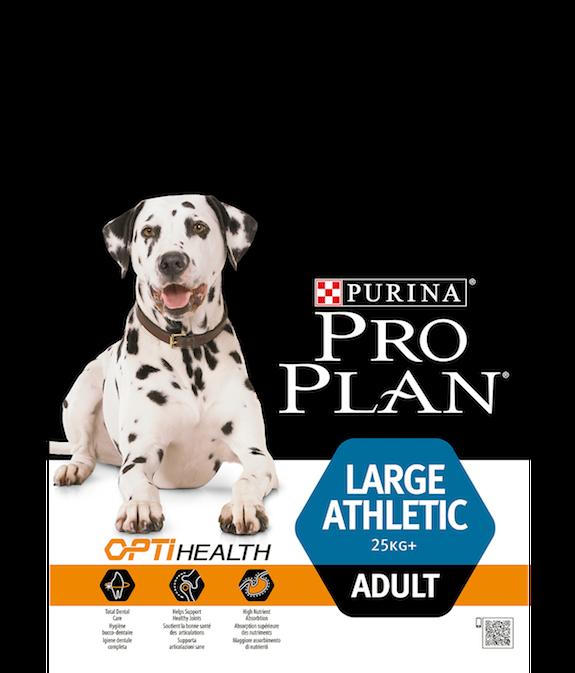 Сухой корм Pro Plan Adult Large Athletic для взрослых собак крупных пород с атлетическим телосложением