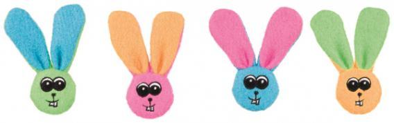 Игрушка Trixie Кролик с погремушкой для кошек