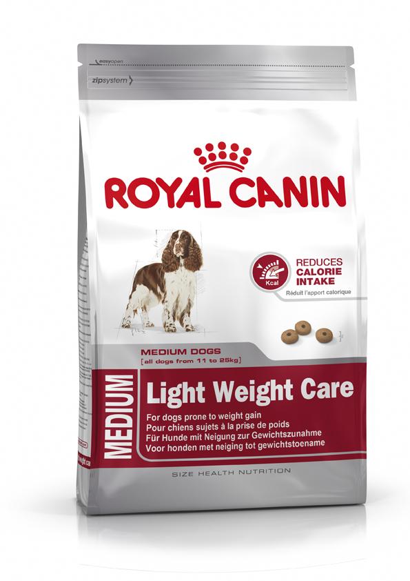 Сухой корм Royal Canin Medium Light Weight Care для собак