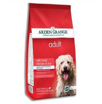 Сухой корм Arden Grange Adult Dog с курицей и рисом для взрослых собак