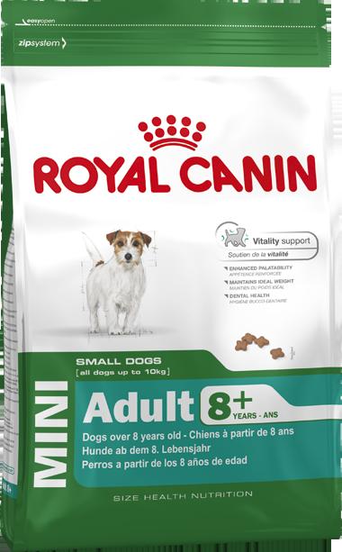 Сухой корм Royal Canin Mini Adult 8+ для стареющих собак мелких пород