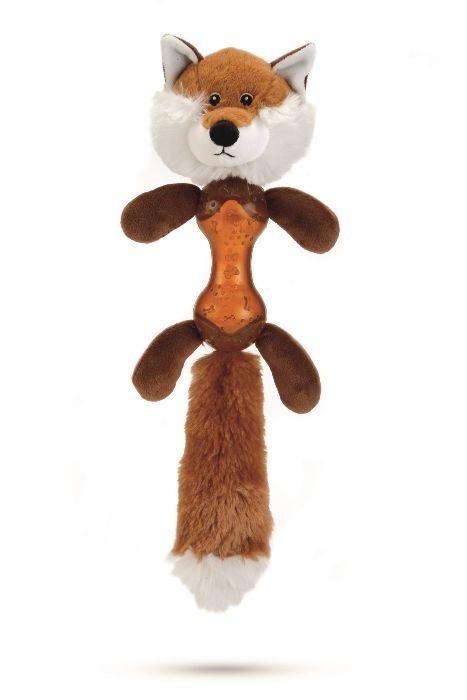 Игрушка I.P.T.S. Beeztees Лиса плюшевая для собак 43 см