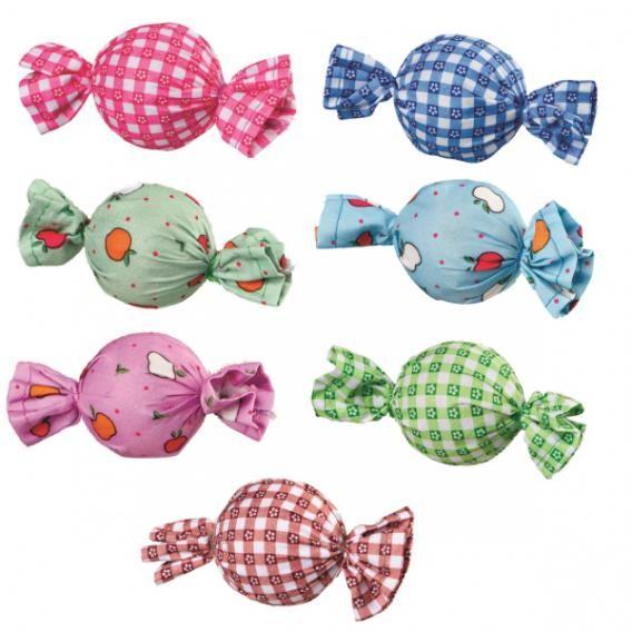 Набор игрушек Trixie Конфетки-погремушки для кошек 48 шт