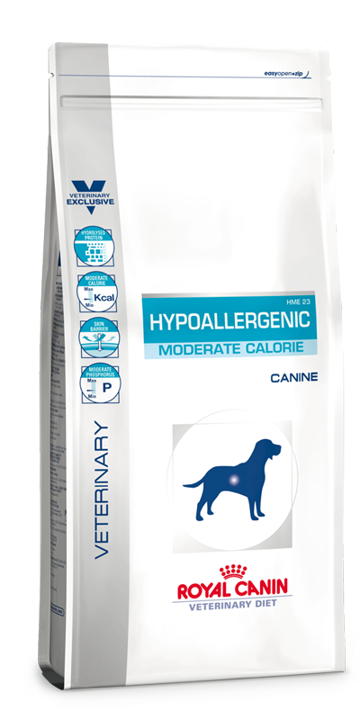 Сухой корм Royal Canin Hypoallergenic Moderate Calorie HME23 для собак с пищевой аллергией