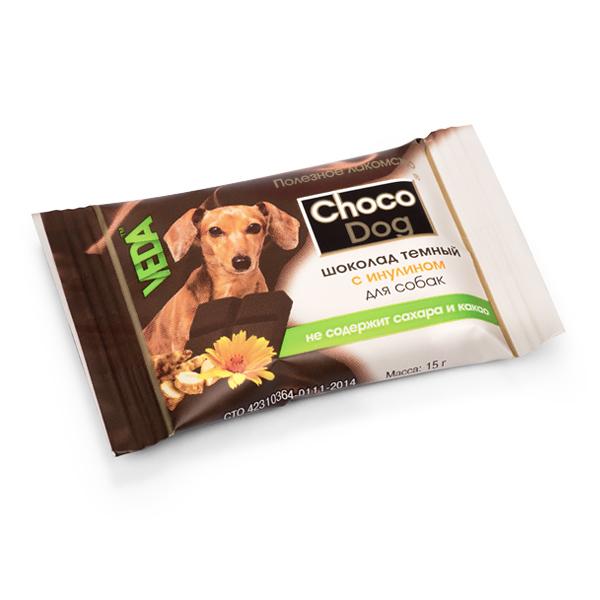 CHOCO DOG шоколад тёмный с инулином