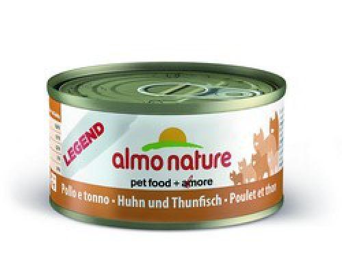 Консервы Almo Nature Legend с курицей и тунцом для взрослых кошек