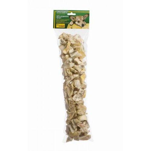 Хрустики из губ и носов говяжьих TiTBiT XXL для собак в мягкой упаковке