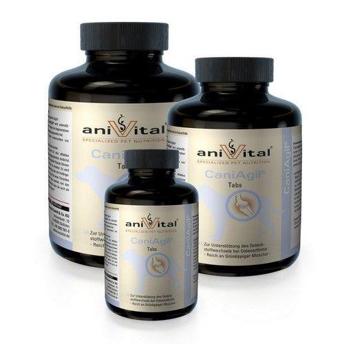 Дополнительное питание Anivital CaniAgil для здоровья хрящей и суставов собак