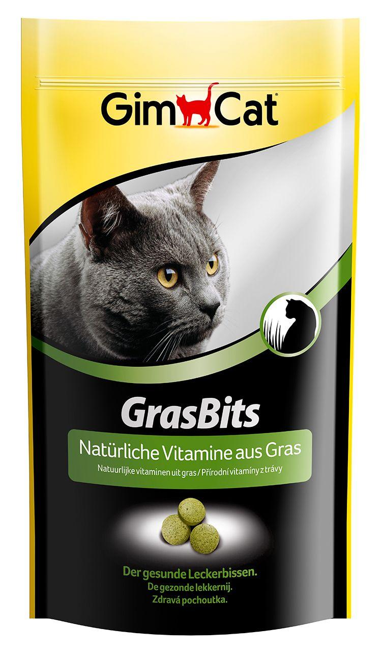 Таблетки Gimcat Грасбитс с травой для кошек