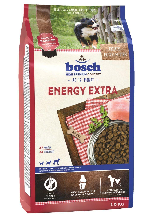 Сухой корм Bosch Energy Extra для очень активных собак 1 кг