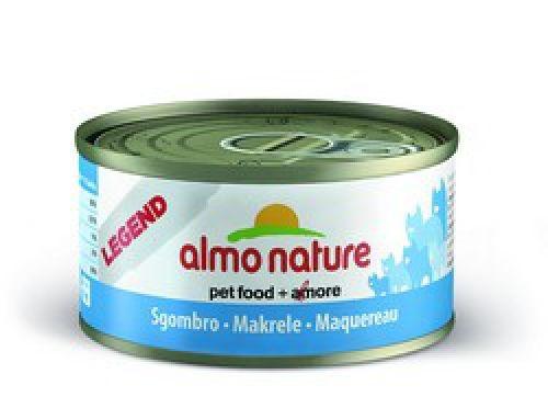 Консервы Almo Nature Legend с макрелью для взрослых кошек