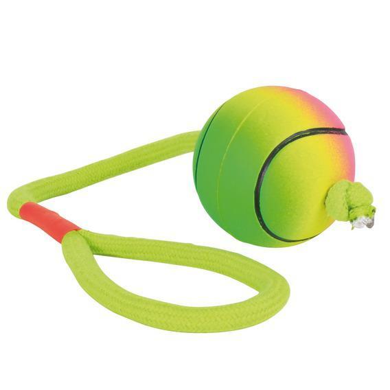 Набор мячей Trixie с веревкой для собак 24 шт