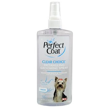 Средство 8in1 Perfect Coat Clear Choice Detangling Grooming Spray для облегчения расчесывания собак 295 мл