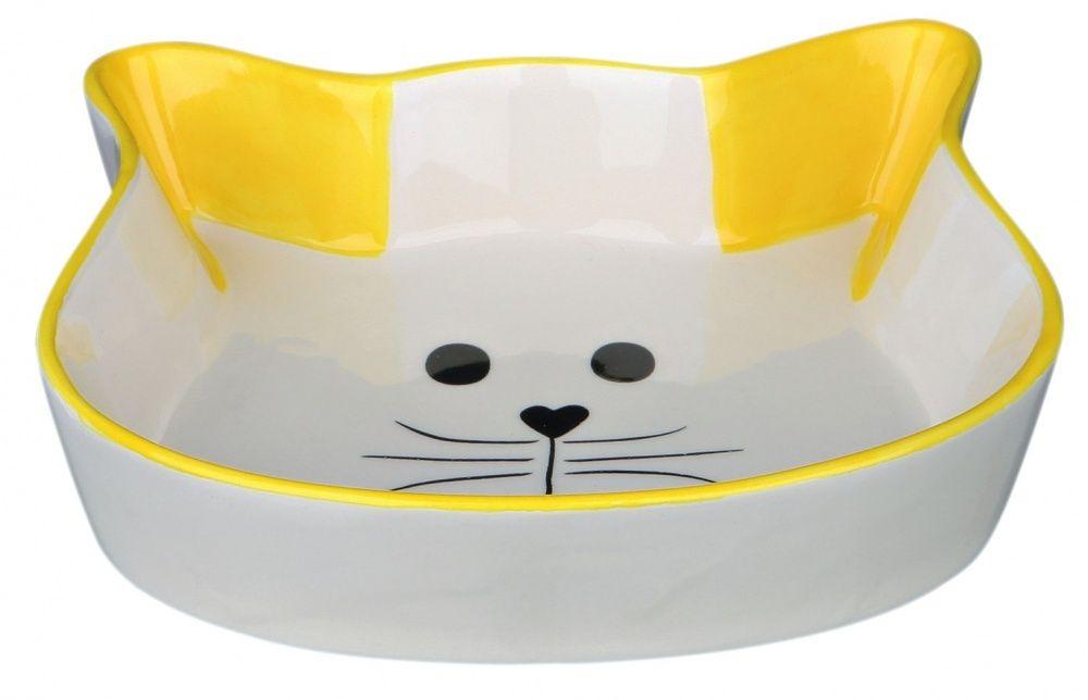 Миска Trixie Cat Face керамическая для кошек