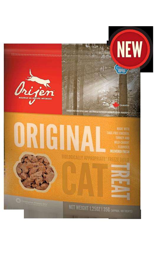 Лакомство Orijen Original сублимированное для кошек 35 г