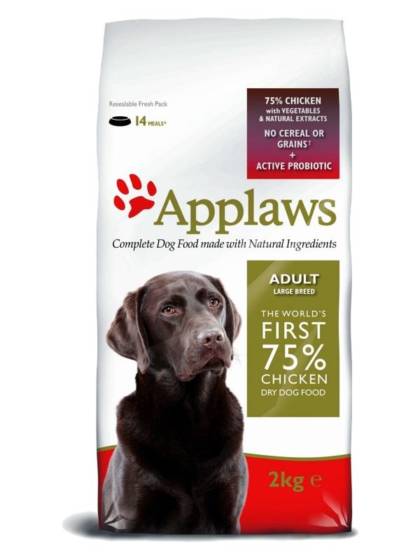 "APPLAWS Беззерновой корм для Собак крупных пород ""Курица/Овощи"""