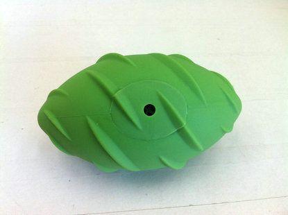 Игрушка SuperDesign Регби с пищалкой для собак