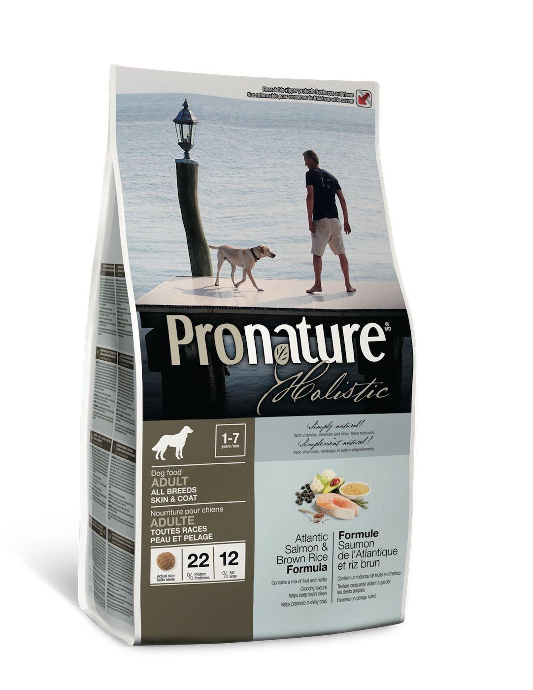 Сухой корм Pronature Holistic с лососем и рисом для собак