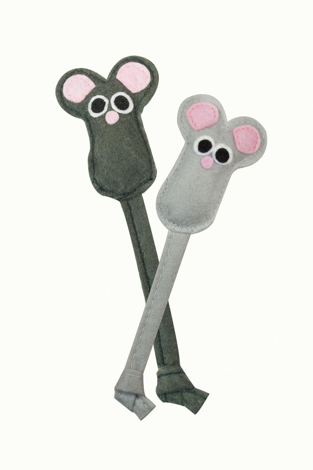 Игрушка для кошек Petstages мышка фетровая 2 шт.