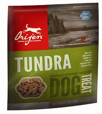 Сублимированное лакомство Orijen Tundra для собак всех пород
