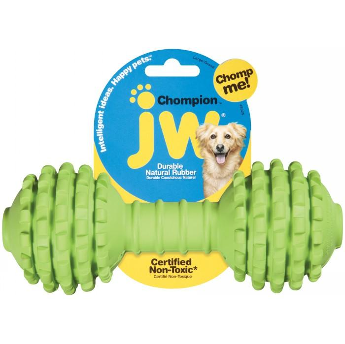 Игрушка JW Pet Chompion Heavyweight Гантель с шипами большая для собак