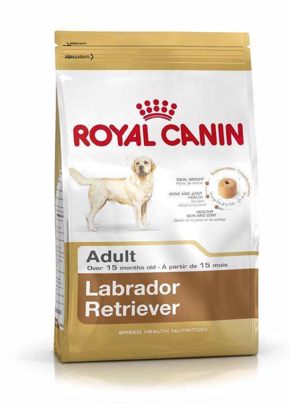 Сухой корм Royal Canin Labrador Retriever Adult для взрослых лабрадоров и голден-ретриверов