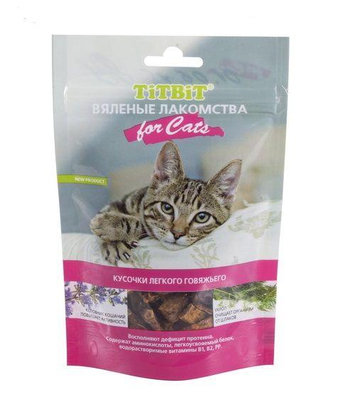 Вяленые лакомства TiTBiT для кошек