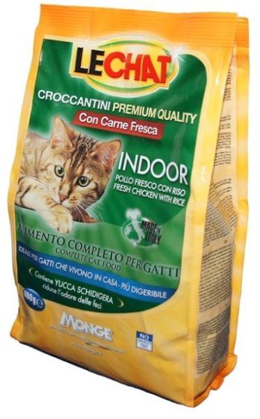Сухой корм Lechat Cat Indoor для домашних кошек 400 г
