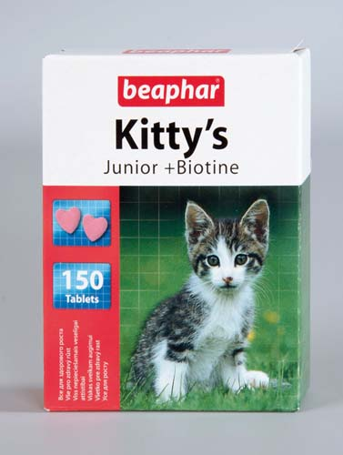 Витамины Beaphar Kitty's Junior для котят