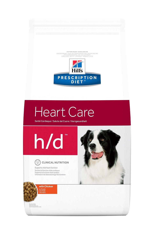 Сухой корм Hill's Prescription Diet H/D Heart Care для поддержания функций сердца у собак 5 кг