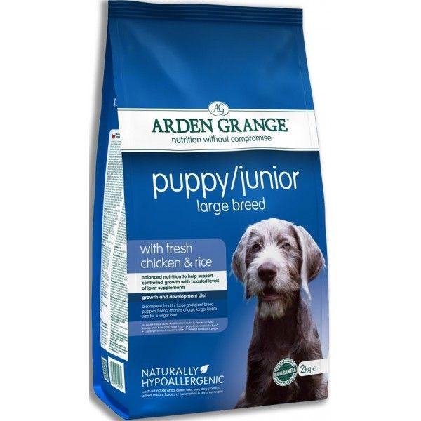 Сухой корм Arden Grange Dog Puppy/Junior Large Breed для щенков и молодых собак крупных пород