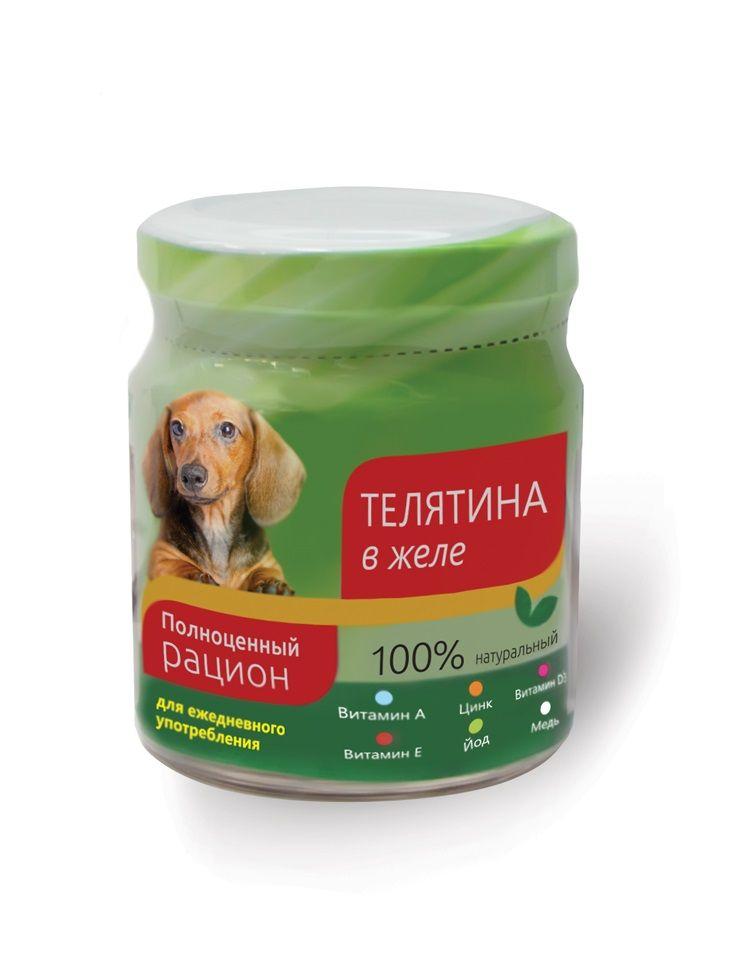 Консервы TiTBiT Телятина в желе для собак 100 г